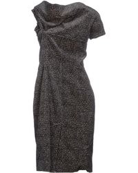 DSquared² Short Dress gray - Lyst