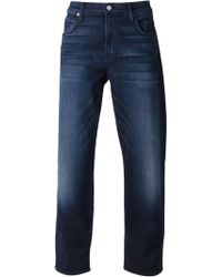 7 For All Mankind The Carsen Easy Straight Leg Jeans - Lyst