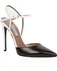Tabitha Simmons Valentina Leather Pumps - Lyst