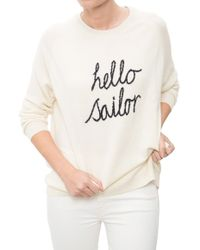 Chinti & Parker | Hello Sailor Sweater | Lyst