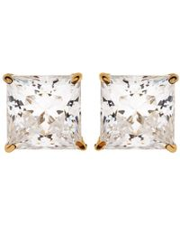 Carat* - Elegant Princess Stud Earrings - Lyst