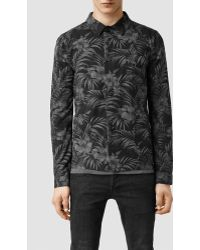 AllSaints Tide Jacket black - Lyst
