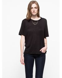 Cheap Monday Big Tee in Black - Lyst