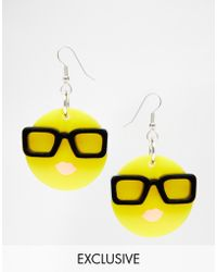 Tatty Devine | Emoji Earrings Exclusive | Lyst