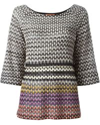Missoni Knitted Top - Lyst