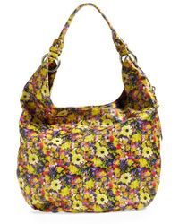 Hobo Gardner Leather Shoulder Bag floral - Lyst