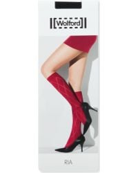 Wolford Ria Knee-high Tights - Lyst