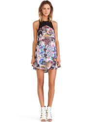 Three Of Something Multicolor Majestic Dress - Lyst