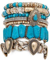 Samantha Wills - Southern Sun Bracelet Set - Turquoise - Lyst