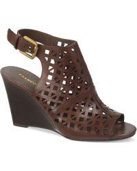 Franco Sarto Famke Wedge Sandals - Lyst