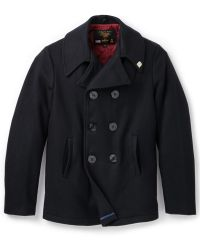Gerald & Stewart - Quilted Pea Coat - Lyst