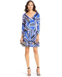 Diane von Furstenberg Dvf Kaden Silk Jersey Tunic Dress - Lyst