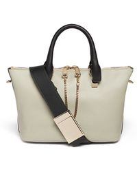 Chloé 'Baylee' Small Leather Tote - Lyst