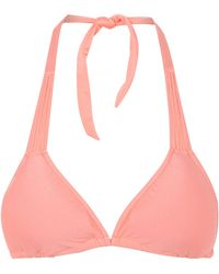 Seafolly Shimmer Spaghetti Slide Triangle Bikini Top - Lyst