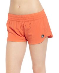 Volcom - 'simply Solid 2' Cover-up Shorts - Lyst