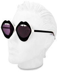House of Holland - Lippy Sunglasses - Lyst