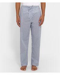 Derek Rose Nelson Printed Pyjama Trousers - Lyst