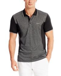 Boss Green Parsos  Slim Fit Stretch Polo Shirt - Lyst
