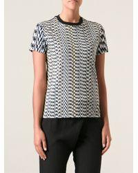 Kenzo White Noise Printed Tshirt - Lyst