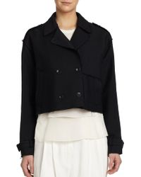 Rag & Bone Marshall Cropped Jacket black - Lyst
