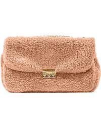 Pixie Market - Faux Fur Life Shoulder Bag - Lyst