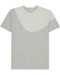 Reiss Soliel Flecked Stripe T-shirt - Lyst