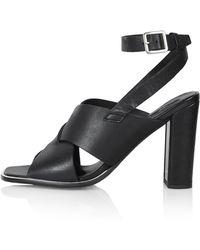 Topshop Elite High Sandals - Lyst