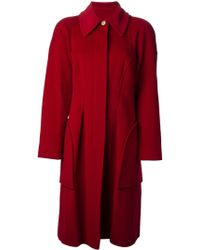 Christian Lacroix Oversized Coat - Lyst