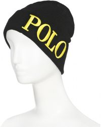 Polo Ralph Lauren Knit Hat - Lyst