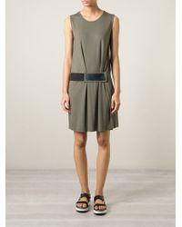 Kai-aakmann - Front Belt Dress - Lyst