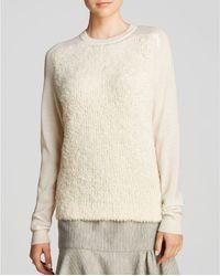 Tibi Sweatshirt  Furry - Lyst