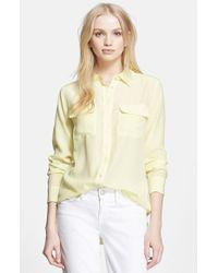 Equipment 'Slim Signature' Silk Shirt - Lyst