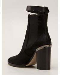 Reed Krakoff High Oxford Ankle Boots - Lyst