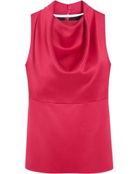 Mulberry Red Portland Top - Lyst