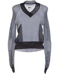 Mm6 By Maison Martin Margiela Sweater - Lyst