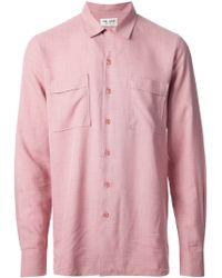 Saint Laurent Fine Check Shirt - Lyst