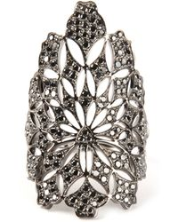 Gaydamak - Flower Embellished Ring - Lyst