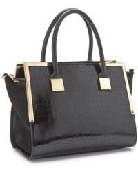 Ted Baker Metal Corners Tote Bag - Lyst