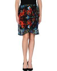 Cutie Knee Length Skirt - Lyst