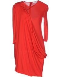 Vionnet | Short Dress | Lyst