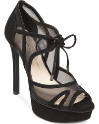 Jessica Simpson Carmita Mesh Platform Dress Sandals - Lyst