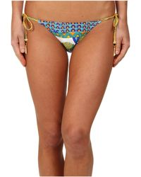 Trina Turk Amazonia Tie Side Hipster - Lyst