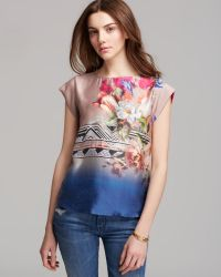 Twelfth Street by Cynthia Vincent Floral Classic Tee - Lyst