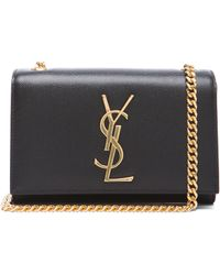 Saint Laurent Small Monogramme Chain Bag - Lyst