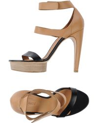 Vic Matie' Platform Sandals - Lyst
