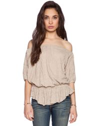 Free People Shades Of Cool Top - Lyst
