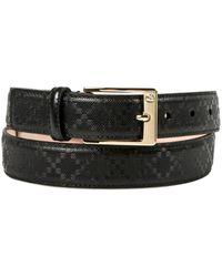 Gucci Black Belt - Lyst