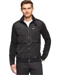 Calvin Klein Premium Full-Zip Slim-Fit Jacket - Lyst