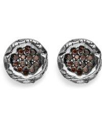 Platadepalo - Classic Small Zircon Earring - Lyst