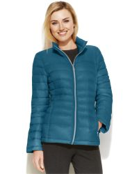 Calvin Klein Quilted Packable Down Puffer Coat - Lyst